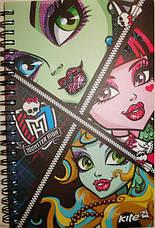 Блокнот на спирали «Monster High», формат А-5, 80 листов, фото 3