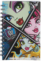 Блокнот на спирали «Monster High», формат А-5, 80 листов