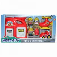 Игровой набор Пожарная станция New Keenway 32804
