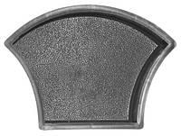 Форма для тротуарной плитки Чешуя шагрень