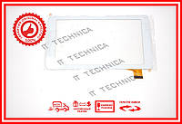 Тачскрин 186x104mm 30pin XC-PG0700-028 БЕЛЫЙ