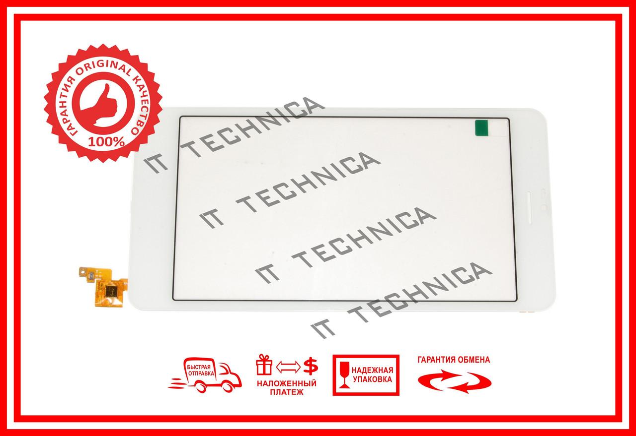 Тачскрін 189x95mm 10pin FPC-68A1-V02 БІЛИЙ