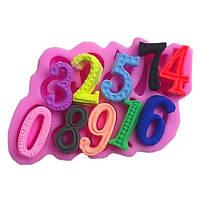 Силиконовый молд  3d Цифры