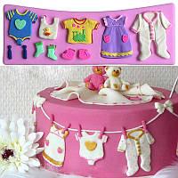 Набор детской одежды - силиконовый молд