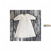 Крестильная рубашка Battessimo Классическая, цвет молочный