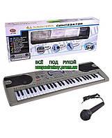 Детский синтезатор орган с микрофоном Play Smart 0892