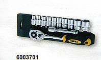 "Ключ-трещётка 1/2"" с набором насадок CrV"