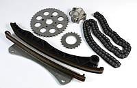 Комплект ГРМ (цепь, башмак, натяжитель) Fiat Doblo 1.3JTD