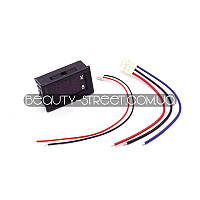 Цифровой вольтметр - амперметр DС 0-100V 10А  LED