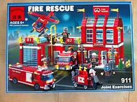"""Детский конструктор """"Brick - Пожарная охрана"""", 980 дет., 911"""