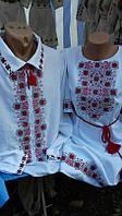 Платье-вышиванка в украинском стиле