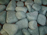 Камни для бани, жадеит ОЛИВИНОВЫЙ ДИАБАЗ ШЛИФОВАННЫЙ