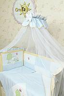 Бортики на детскую кроватку Игрушка