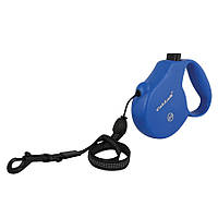 Collar Control М поводок-рулетка синяя для собак до 20кг, 5м