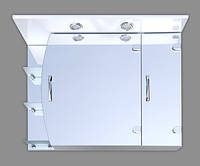 Зеркальный шкаф ПАРМА