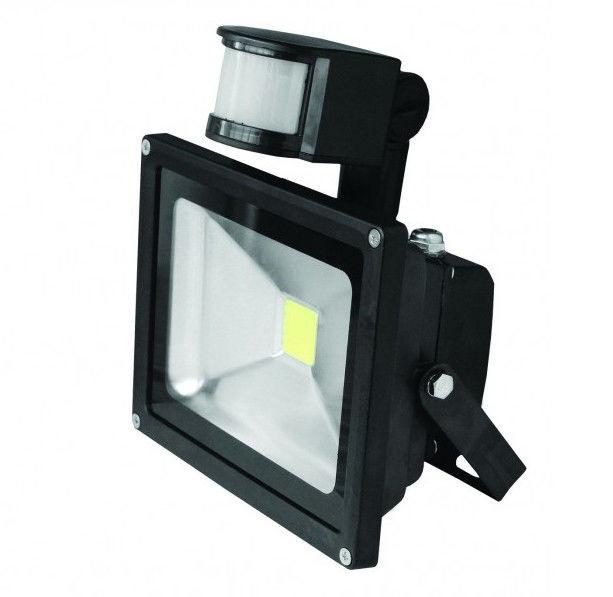 Светодиодный прожектор EUROELECTRIC Sensor 10Вт c датчиком  движения