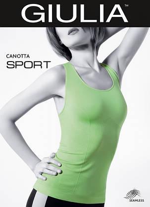 Спортивная майка борцовка бесшовная CANOTTA SPORT, фото 2