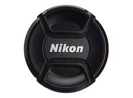 Крышка объектива Nikon с диаметром (49, 52, 55, 58, 62, 67, 72, 77 мм)