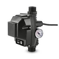Электронное реле давления с устройством защиты от работы без воды