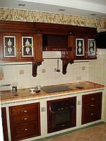 Кухня под заказ из массива. Киев