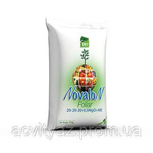 Водорастворимое удобрение Новалон Фолиар 20-20-20+0,5 MgO+MЕ 10 кг