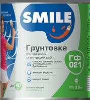Грунт Smile ГФ-021 Красно-Коричневый 1,0 кг