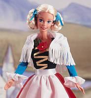 Коллеционная Барби-куклы народов мира-Германия. выпуск 1995 г German Barbie - Dolls of the World Collection
