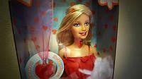 Кукла Барби День Святого Валентина красные сердца с люб Barbie Valentines Day Doll Red Hearts With Love, 2005