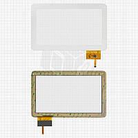 Touchscreen (сенсорный экран) для Globex GU110A, белый, оригинал
