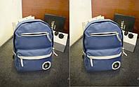 """Городской школьный рюкзак """"След"""" """" Ладошка """" Fashiion-Master синий ,высококачественный,  фабричный!, фото 1"""