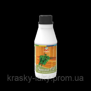 Сауна масло Sauna Oil Eskaro состав для защиты банных полков 0.7л
