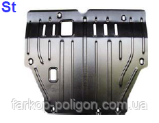 Защита коробки SSANG YONG Actyon v-2,0 XDi c-2007 г.