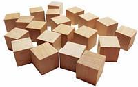 Деревянный кубик для игры 4*4