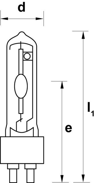Лампы М/Г с керамической горелкой G12