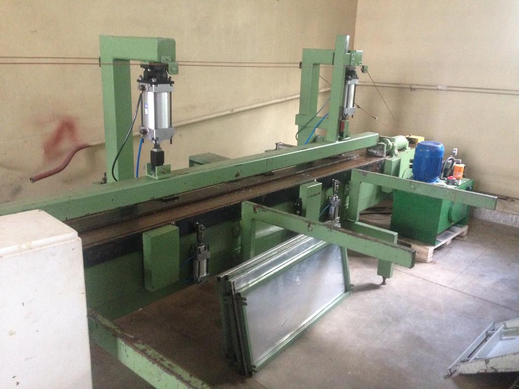 Лінія зрощування деревини Goma -1