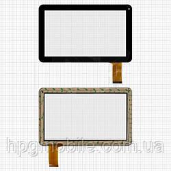 Touchscreen (сенсорный экран) для GoClever Terra101, 50 pin, черный, оригинал