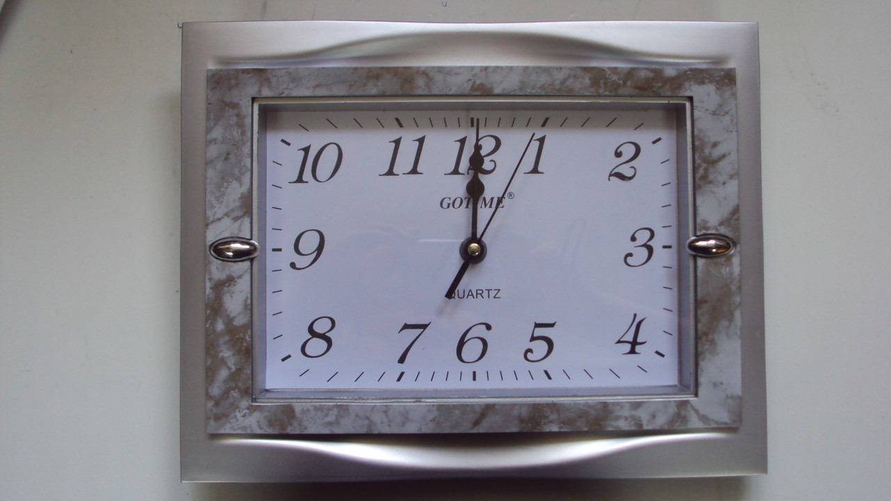 Настенные часы бесшумные размер 30*23