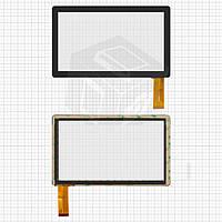 Сенсорный экран (touchscreen) для Cube U18GT Deluxe Edition, 30 pin, ёмкостный, черный, оригинал