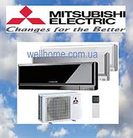 Кондиционер Mitsubishi Design Inverter MSZ-EF25VE2W/B /MUZ-EF25VE