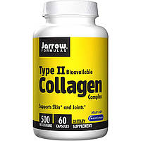 Коллаген тип II, Jarrow Formulas, 500 мг, 60 капсул. Сделано в США.