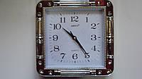 Настенные часы бесшумные размер 23*23