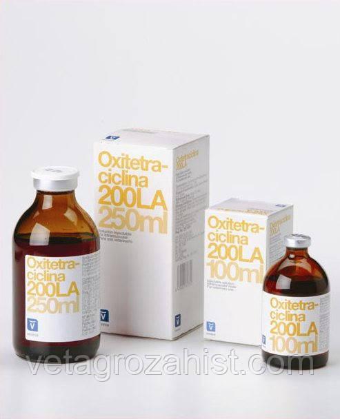Окситетрациклин 200, 100 мл Invesa (Испания)