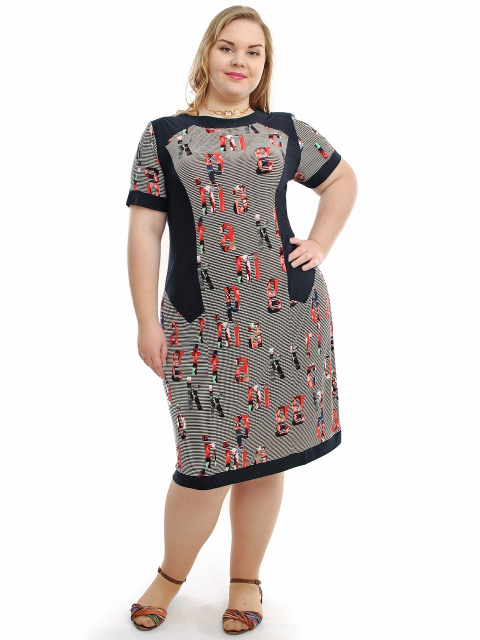 de8d02c167d Молодежное платье больших размеров