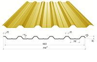 Профнастил в полимерном покрытии НC-35, 0,4мм