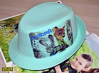 Детская шляпка с фотопринтом ЗООТОПИЯ - уже в наличии!!!