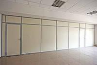 Офисные перегородки непрозрачные (глухие), фото 1