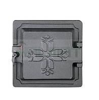 Чугунные дверцы DKR2 150x150