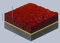 Полиуретановый клей-порозаполнитель для подложек из резиновой крошки Huntsman-NMG  ПОЛИПЛАСТ® 105