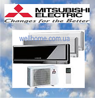 Кондиционер Mitsubishi Design Inverter MSZ-EF50VE2W/B /MUZ-EF50VE