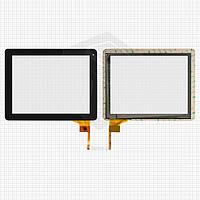 Сенсорный экран (touchscreen) для Ritmix RDM-1040 / RDM-1055, черный, оригинал